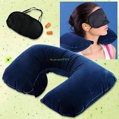 3 in 1 Travel Pillow Scientifically Proven Super Soft Neck Support Pillow Set