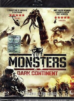 Monsters Dark continent (2016) Blu Ray
