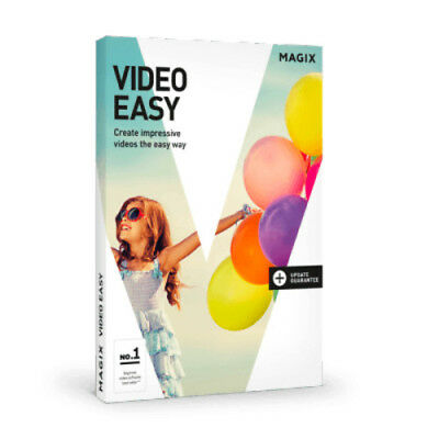 Magix Video Easy Software Edicion Video (Solo Clave/key Only)