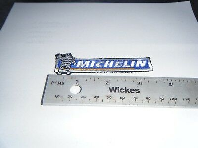 Genuine MICHELIN NOMEX flameproof cloth patch / badge 85 x 25mm BRAND NEW.