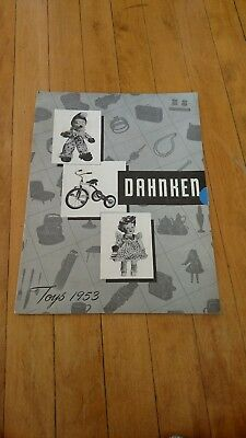 Vintage 1953 Dahnken Toy & Gift Catalog Salt Lake City Utah Rare!!!