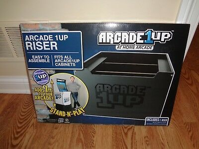 Arcade1Up Home Arcade Cabinet Riser Brand New Factory Sealed In Hand Free Ship