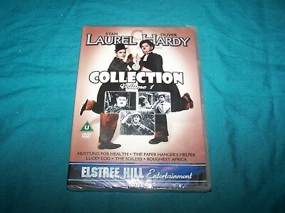NEW ~ Laurel and Hardy Collection ~Volume 1  ~ DVD ~ PAL Region 2 ~ U
