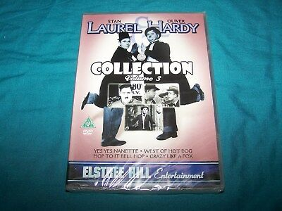 NEW ~ Laurel and Hardy Collection ~ volume 3 ~ DVD ~ PAL Region 2 ~ U
