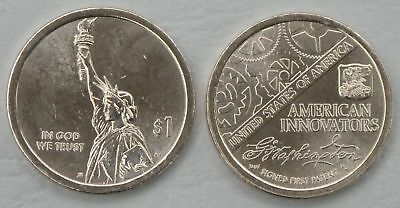 USA American Innovation Dollar - Introductory Coin 2018 D unz.