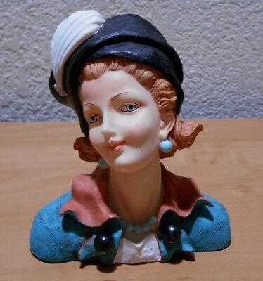 Lady Head Vase Made in China