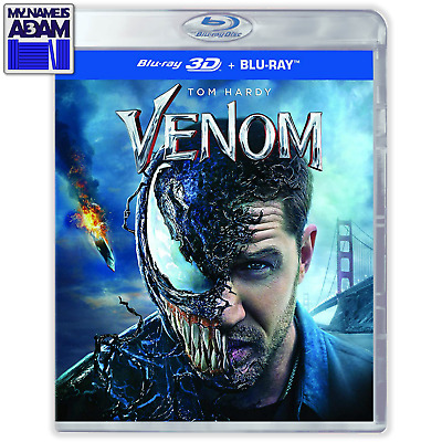 VENOM Blu-ray 3D + 2D (REGION FREE) SHIPS NEXT BUSINESS DAY!                (ES)