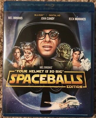 Spaceballs in Blu Ray HD!  Extras - Postcards, Stickers, and more, see pics!