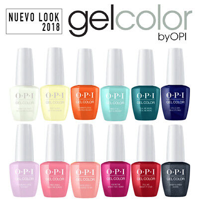 OPI GEL COLOR NEW LOOK - Vernis à ongles Couleurs 2018 15ml GELCOLOR PERMANENT