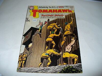 Tomahawk # 83 DC Comics 1962 Silver Age Good Reading Copy