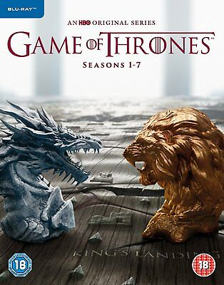 Game Of Thrones Seasons 1-7 Complete Blu Ray Box Set New Sealed 11/12/17 Series