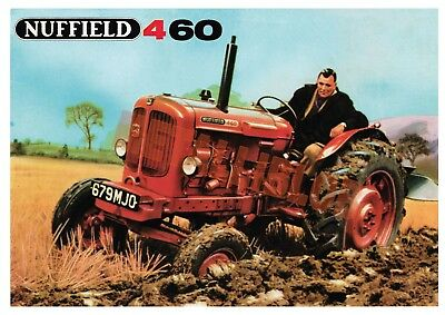 Nuffield 460 Tractor - Poster (A3) - (3 for 2 offer)