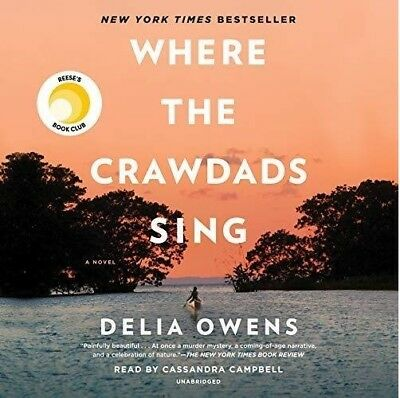 Where the Crawdads Sing By Della Owens (audio book)