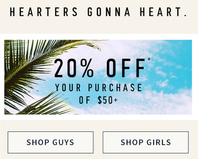 Hollister 20% off $50+ Purchase—Expires 2/28/19—SENT FAST!!!