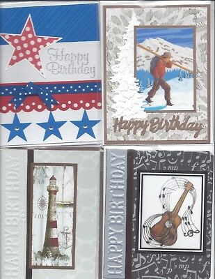 Lot Of 10 Handmade Thank You Cards With Envelopes Stampin Up More