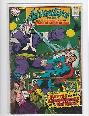 Adventure Comics #366 - Neal Adams - Very Good/Fine