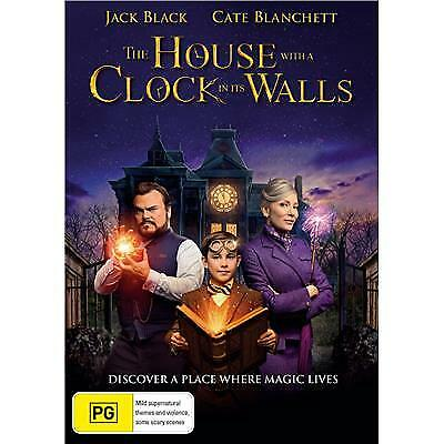 The House With A Clock In The Walls Dvd, New & Sealed, 2018 Release, Free Post