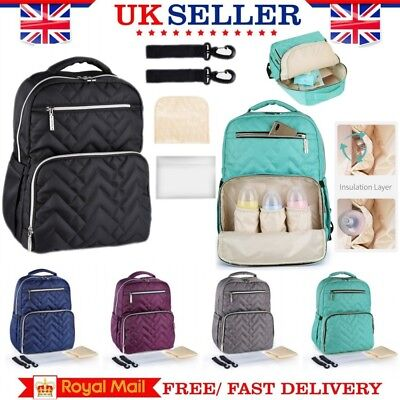 Baby Diaper Nappy Mummy Changing Bag Waterproof Large Travel Hospital Backpack