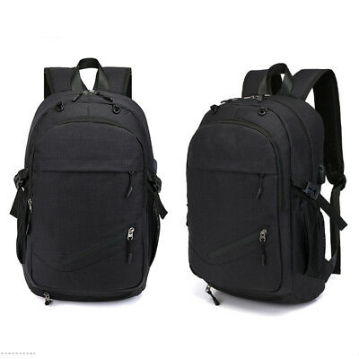 Outdoor Sports Backpack Basketball Carry Bag USB Charging Design Laptop F1D7
