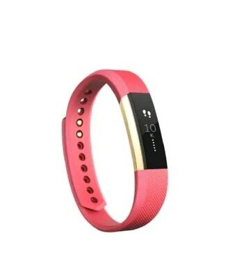 Fitbit Alta Fitness Activity Tracker, Size Large, Special Edition Pink/Gold