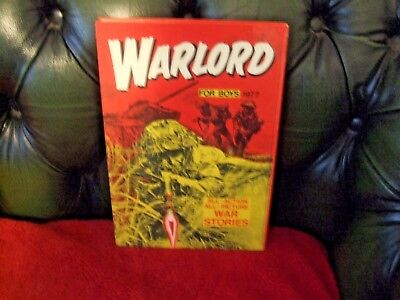 DC Thompsons Warlord for Boys Annual 1977 (Unclipped)