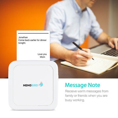 Pocket Note Photo Thermal Mobile Printer Mini BT Connection Phone Wireless N7X1