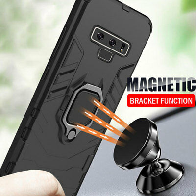 Magnetic Stand Shockproof Armor Case Cover for Samsung Galaxy Note 9 S8 S9 Plus