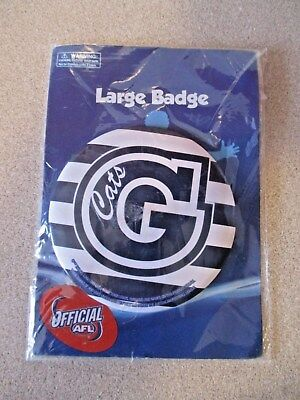 Official AFL Geelong Cats Collectable Large Badge