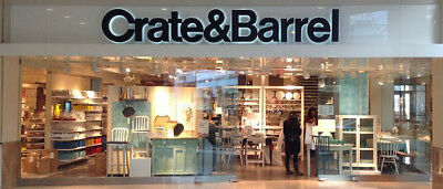 CRATE & BARREL 15% OFF ENTIRE PURCHASE IN-STORE &ONLINE Exp 3/31/2019