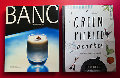 BANC Restaurant cookbook French cuisine recipes Green Pickled Peaches Malaysian