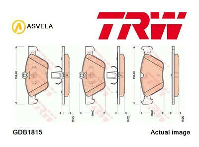 Brake Pad Set,disc brake for MERCEDES-BENZ E-CLASS,W211,M 112.917,M 112.954 TRW