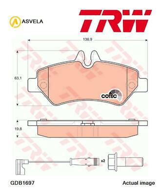 Brake Pad Set,disc brake for VW CRAFTER 30-35 Bus,2E,CKTB,CKTC,CKUB,CSNA,CKUC