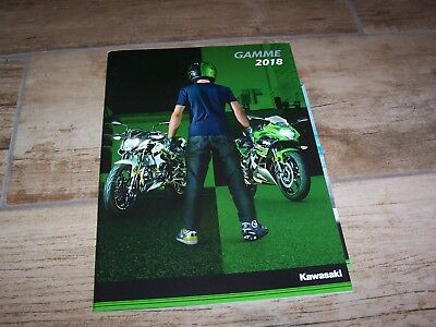 Catalogue /  Brochure KAWASAKI Gamme / Full Line 2018 //