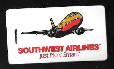 """Vintage Southwest Airlines 4"""" baggage tag collectible"""