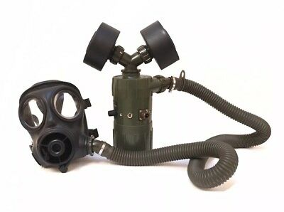 NATO PAPR Unit, NBC CBRN Ventilation Fan, Prepper , Surplus, Ex Army NBC