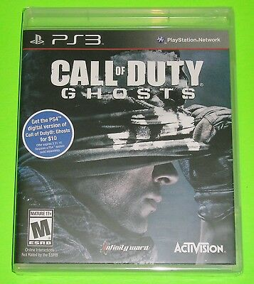 Call of Duty: Ghosts (Sony PlayStation 3, 2013) NEW