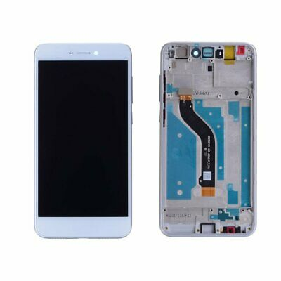 LCD Touch Screen For Huawei P8 Lite 2017 PRA-LX1 Digitizer Assembly+ White Frame