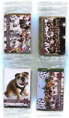 2017 Mississippi State Baseball 40-Card Team Set