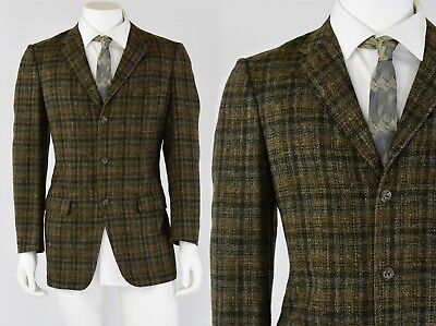 70s Vintage Mens 40R Earth-Toned 3 Button Blazer Jacket Preppy Richman Brothers