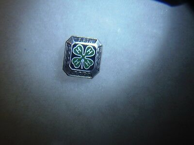 4 H Club Sterling Silver Pin FIFTH