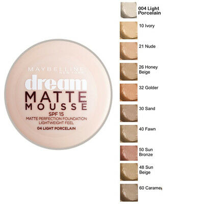Maybelline Dream Matte Mousse Foundation 11 Shades Available