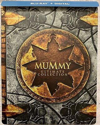 The Mummy Ultimate Collection Blu Ray 5 Disc Limited Edition Exclusive Steelbook