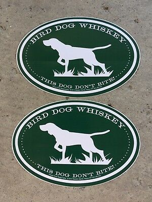 Bird Dog Whiskey Stickers. You Receive 2 Free Shipping.  BOGO 4 Stickers