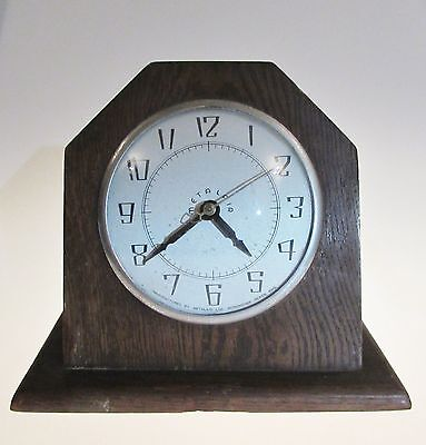 Rare English made electric mantel ( mantle ) clock by Metalair 1950's