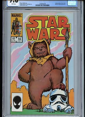 Star Wars #94 CGC 9.8 White Pages Classic Ewok Cover