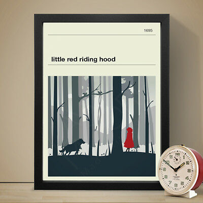 Little Red Riding Hood Fairy Tale Poster