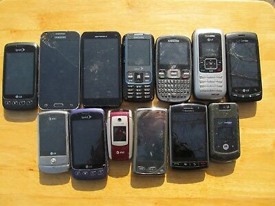 3 lb (pounds) of  Cell Phones for Scrap Gold Recovery