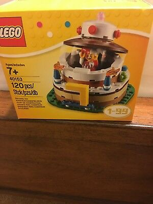 Lego Birthday Cake Table Decoration Set 40153 NEW