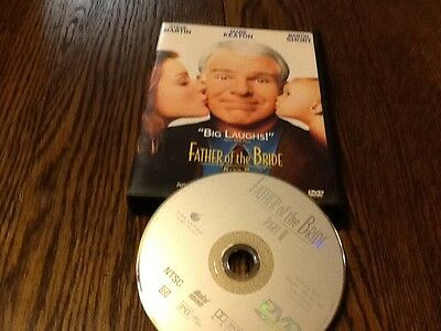 Father of the Bride Part II DVD 2000 USED COMEDY STEVE MARTIN FREE US SHIPPING