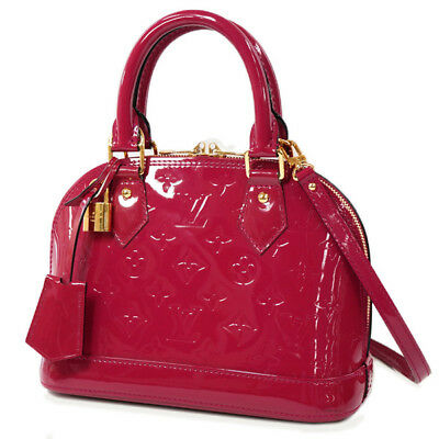 8eab598d7755 LOUIS VUITTON Alma BB 2Way shoulder bag handbag M91771 Rose Andy Anne Verni